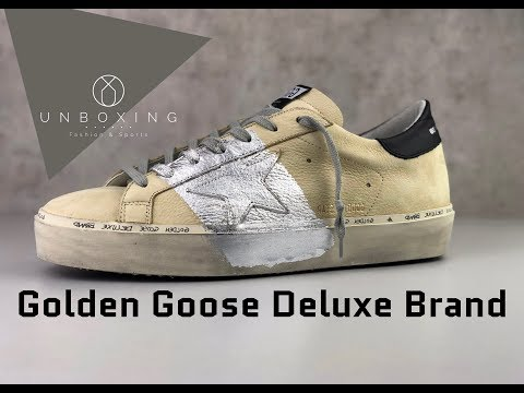 GOLDEN GOOSE Deluxe Brand Hi Star 'creme/silver' | UNBOXING & ON FEET | luxury shoes | 2019