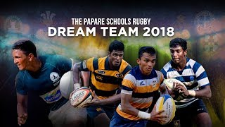 ThePapare Schools Rugby Dream Team 2018
