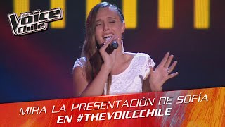 The Voice Chile | Sofía Hernández - Sweet Nothing