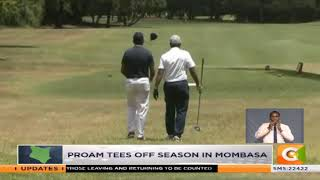 Safari tour golf: Proam tees off season in Mombasa