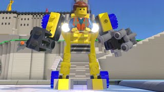 LEGO Dimensions - Emmet's Excavator/Mech Fully Upgraded - All 3 Versions (Vehicle Showcase) thumbnail