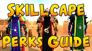 Runescape - Skillcape Perks Guide!