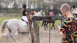 Pomarańczowy Hubertus w Koniku Polnym 2019 🐎🐎🐎