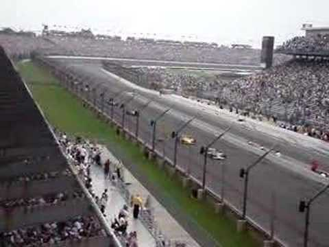 2007 Indy 500 first 3 laps