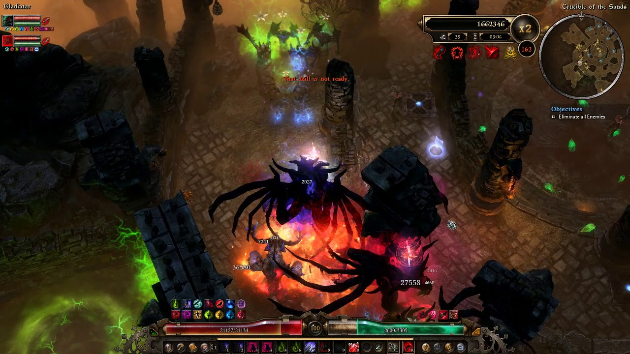 Grim Dawn [1 0 6 1] Hellhound Witch Hunter - Gladiator 151-170