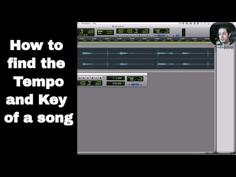 How to find the Tempo and Key of a song