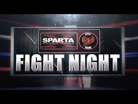 SPARTA & ATB present FIGHT NIGHT:  Milton Roque vs Edison Charley