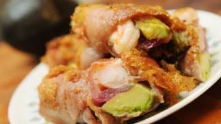In the Kitchen with Ken - Tempura battered prosciutto shrimp wraps