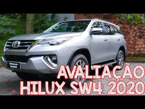 Avaliação Toyota Hilux SW4 2020 Diesel - 7 Lugares, bruta e luxuosa SUV de verdade