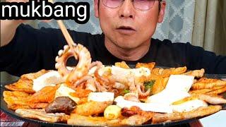 소주가 땡기는 날 삼겹살,,낙지(ft 버섯 김치 두부 …
