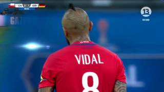Pelea Vidal vs Kimmich Compañeros en Bayern Munich