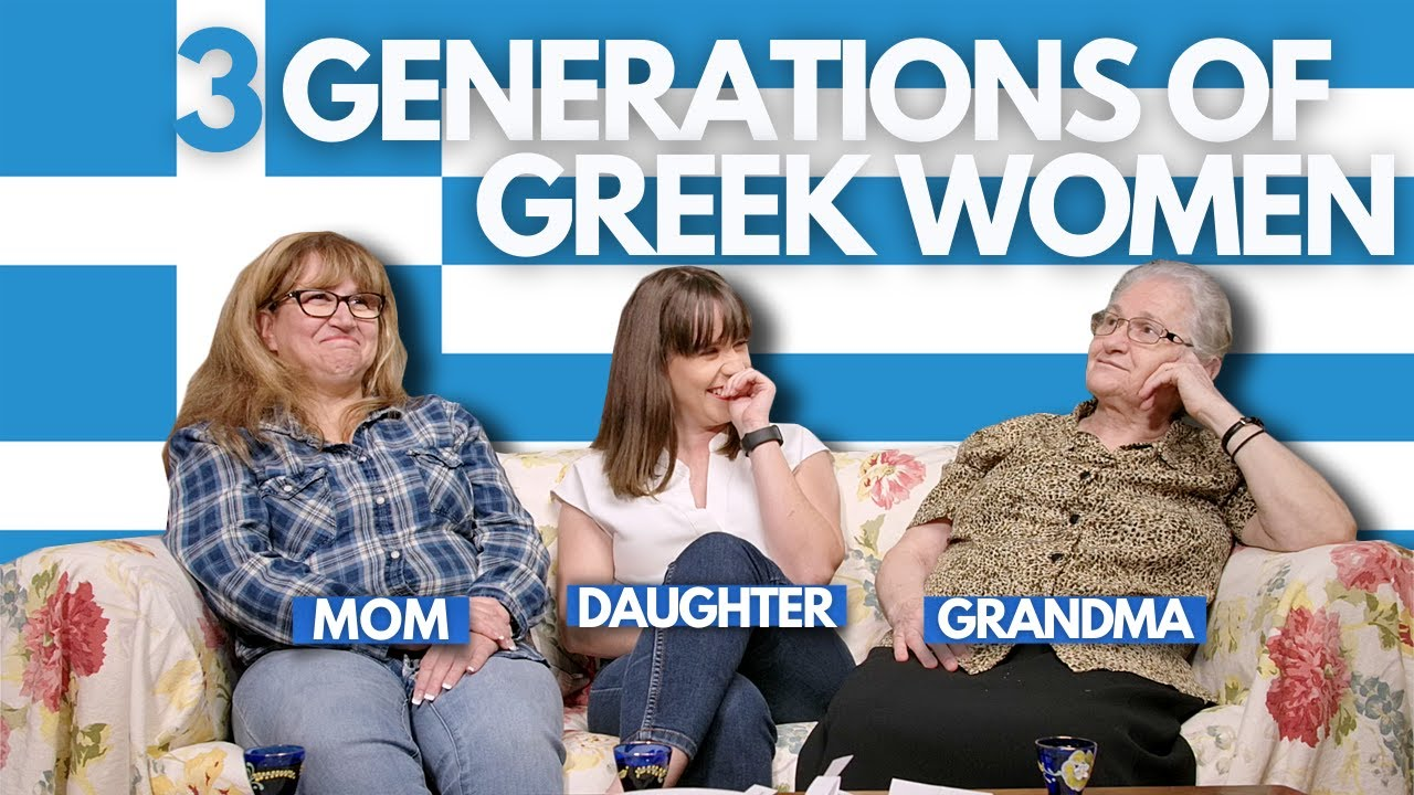 How Dating Changed Through 3 Generations? (Greek-Canadian Family)