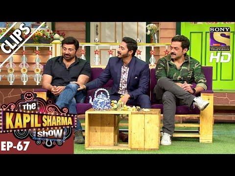 Sunny Deol ,Bobby Deol and Shreyas Talpade with Kapil Sharma - The Kapil Sharma Show – 11th Dec 2016 thumbnail