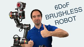 6DoF Brushless Robot Arm which you can buy now! (INNFOS GLUON)