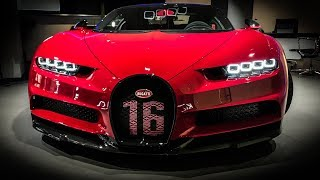 The First Bugatti Chiron SPORT in London! INSANE!!
