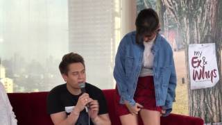 Liza Soberano and Enrique Gil arrive at the 'My Ex and Whys' Blogcon
