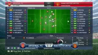 Pro Evolution Soccer 2015 ( PES 2015 ) PC Gameplay FOOTBALL LIFE MASTER LEAGUE MANAGER IN ARSENAL