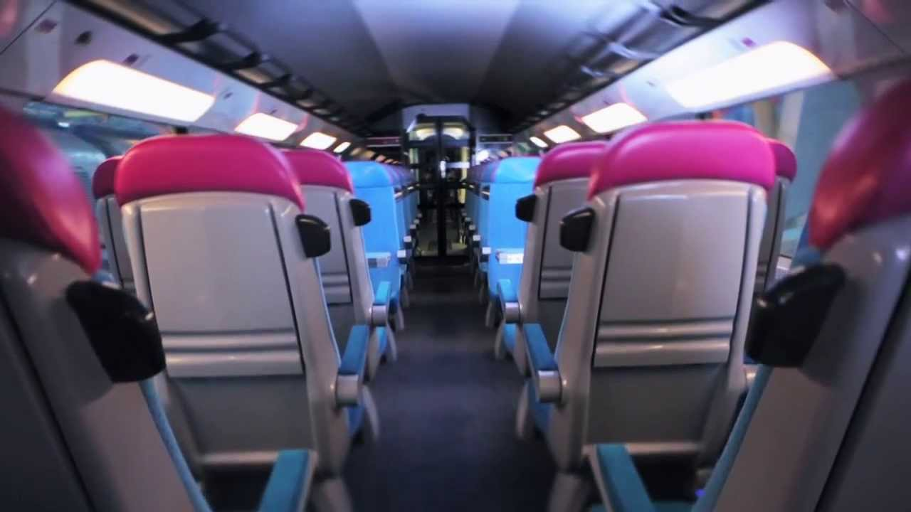 Ouigo r v lation design int rieur et ext rieur des trains for Interieur tgv