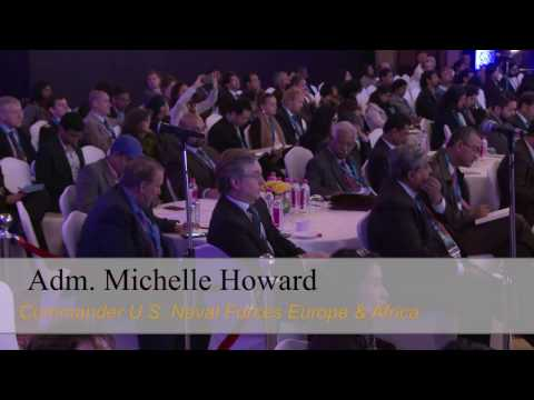 Raisina 2017 | Keynote Address of Adm. Michelle Howard - YouTube
