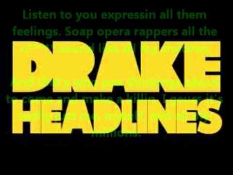 Drake - Headlines (clean) + Lyrics