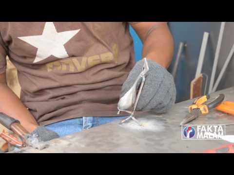 Miniatur Dari Limbah Besi