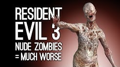 Let's Play Resident Evil 3: NUDE ZOMBIES = MUCH WORSE (Resident Evil 3 Remake Playthrough Ep. 5)
