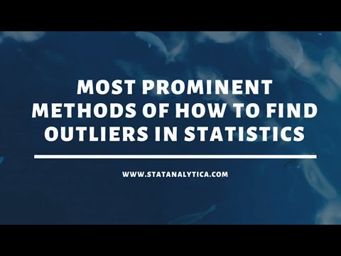Most prominent Methods Of How To Find Outliers In Statistics