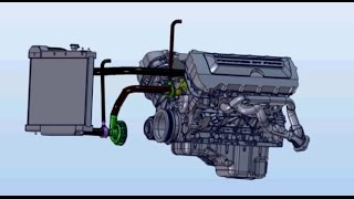 Ford Coyote Engine - Electric Water Pump Conversion