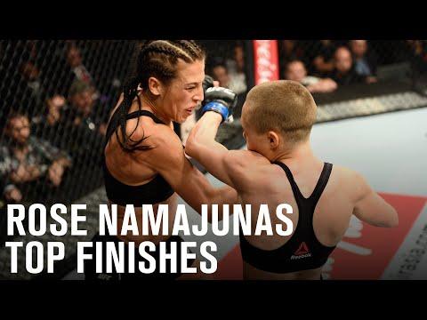 Top Finishes: Rose Namajunas