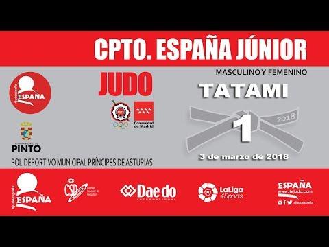 Campeonato de España de Judo Junior 2018 - Tatami 1