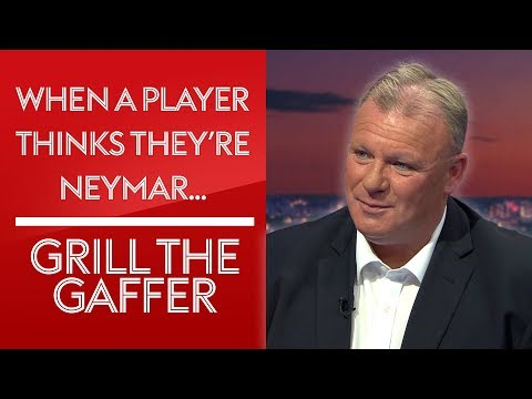 How to deal with a player who thinks he's Neymar! | Steve Evans | #GrillTheGaffer