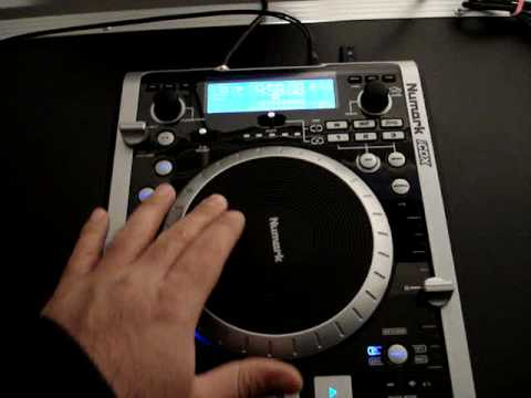ICDX Numark CD Turntable  Preview, Review