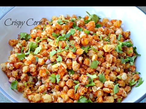 Crispy Corn Recipe | Indian  Style Crispy Corn Kennals Recipe | Snack ON