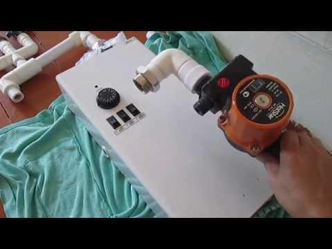 для фото дома отопления котел электрический