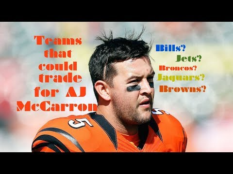 Teams that could trade for AJ McCarron
