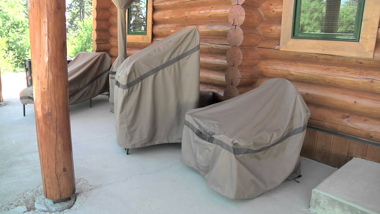 Hickory Patio Furniture Cover Collection Youtube