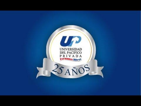 25 AÑOS UNIVERSIDAD DEL PACÍFICO PRIVADA