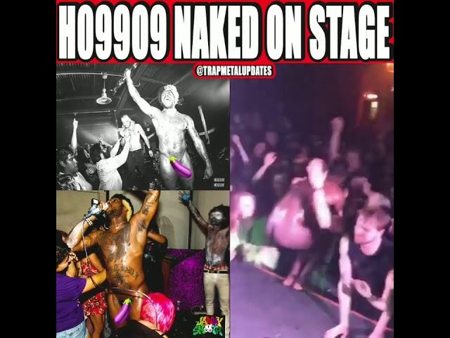 That One Time Ho99o9 Was Naked On Stage #Shorts