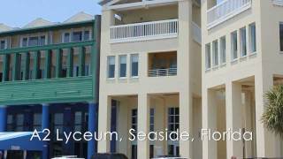 Seaside Florida 4br Gulf View Vacation Rental Condo, A2 Seaside Lyceum