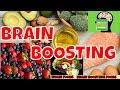 BRAIN FOODS Top 12 Brain Boosting Foods