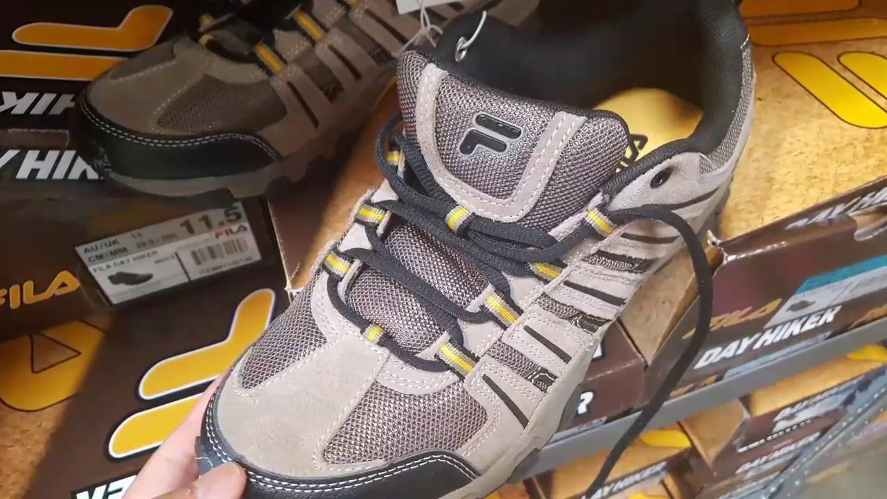 COSTCO! FILA Day Hiker Shoes! $19! is it worth it? Review