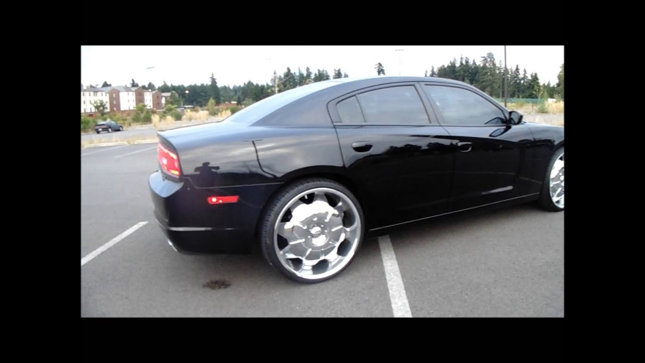 2012 Dodge Charger On 24 S Youtube