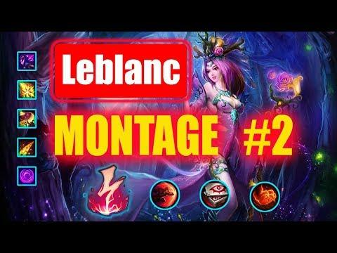 Leblanc Montage #2  : One Shot |  Best Leblanc Plays S8 |  League of Legends
