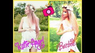 BARBIE imita fotos de KATIE ANGEL