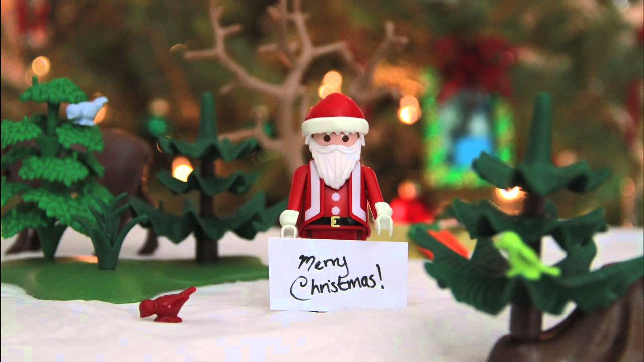 A Playmobil Stop Motion Christmas