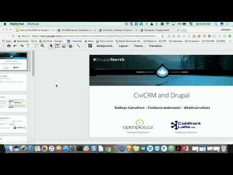 CiviCRM and Drupal