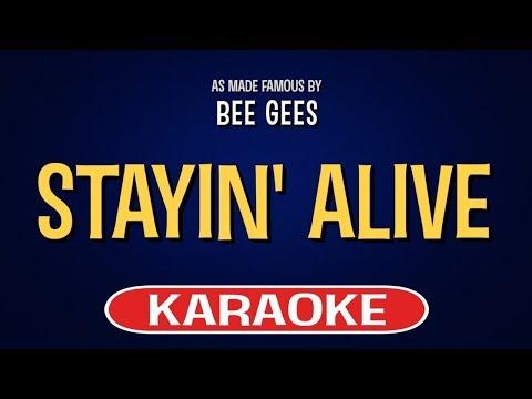 Stayin' Alive (Karaoke) - Bee Gees