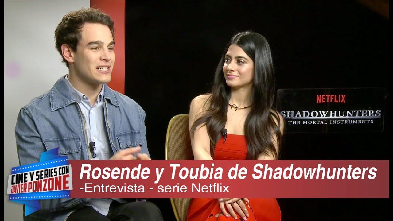 Download A solas con Alberto Rosende y Emeraude Toubia de Shadowhunters