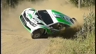 WRC Rally Finland 2018 / crashes