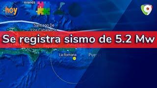 Momento del anuncio de temblor en Hoy Mismo: Se registra sismo de 5.2 Mw